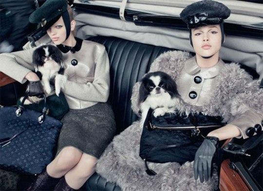 Louis Vuitton ad fall 2011