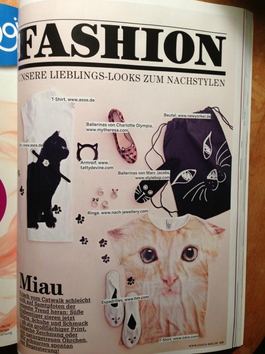 Auszug aus Couch Magazin, Ausgabe 04/2013