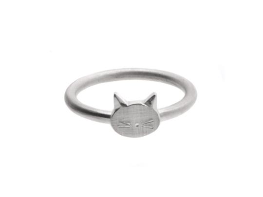 Ring MIAUUU! aus 925 Silber von schmucke Sachen auf DaWanda