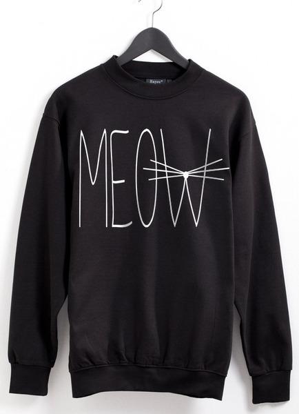 Meow Sweater von Gossengold