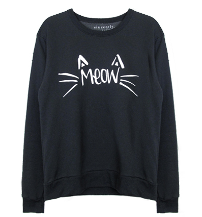 MEOW Pulli von Sincerely Jules