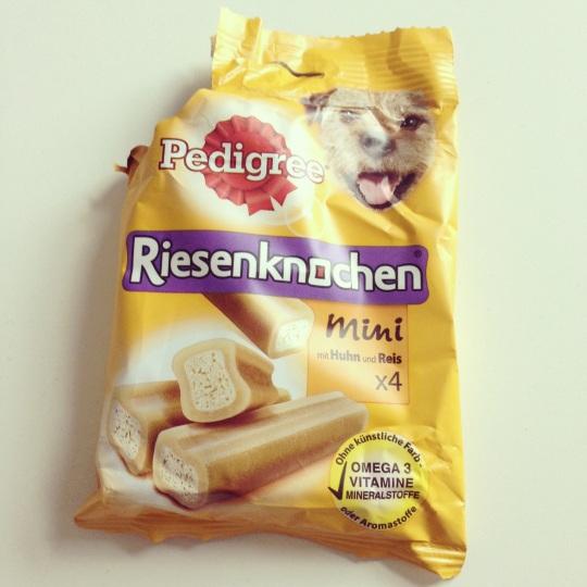 animalicious_Riesenknochen_Mini Verpackung vorne
