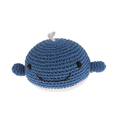 Whale Ball Dog Toy von Mungo&Maud