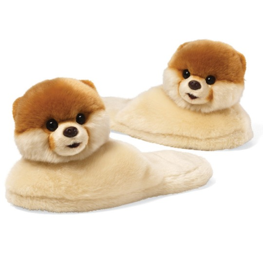 BOO SLIPPERS - Adult via Gund